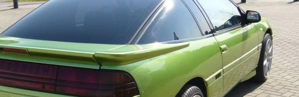 Mitsubishi Eclipse Ganzlackierung