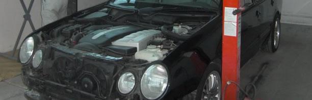 Neulackierung Mercedes W210 T-Modell