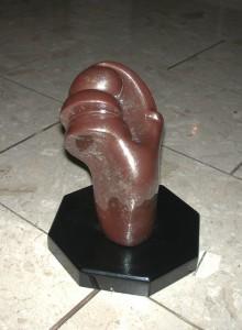 """Statue """"Kraft"""" Meisterprüfungsstück"""