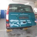 Mercedes V-Klasse Instandsetzung mit dem Micracle Ausbeulsystem