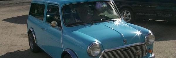 Mini Cooper Kombi Ganzlackierung