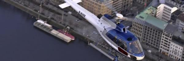 Eurocopter AS350 Umlackierung