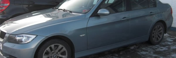 BMW E90 Instandsetzung mit dem Miracle Ausbeulsystem