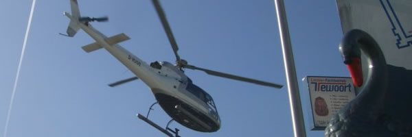 Eurocopter AS 350 Reparaturlackierung