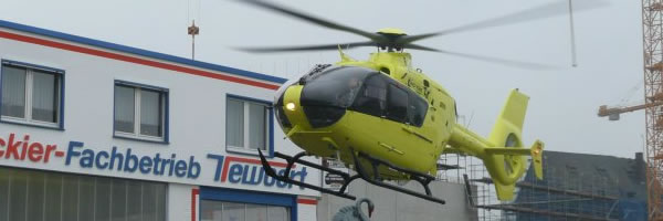 Eurocopter EC 135 Umlackierung