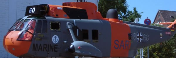 """Scale Model Helicopter Typ """"Sea King"""""""